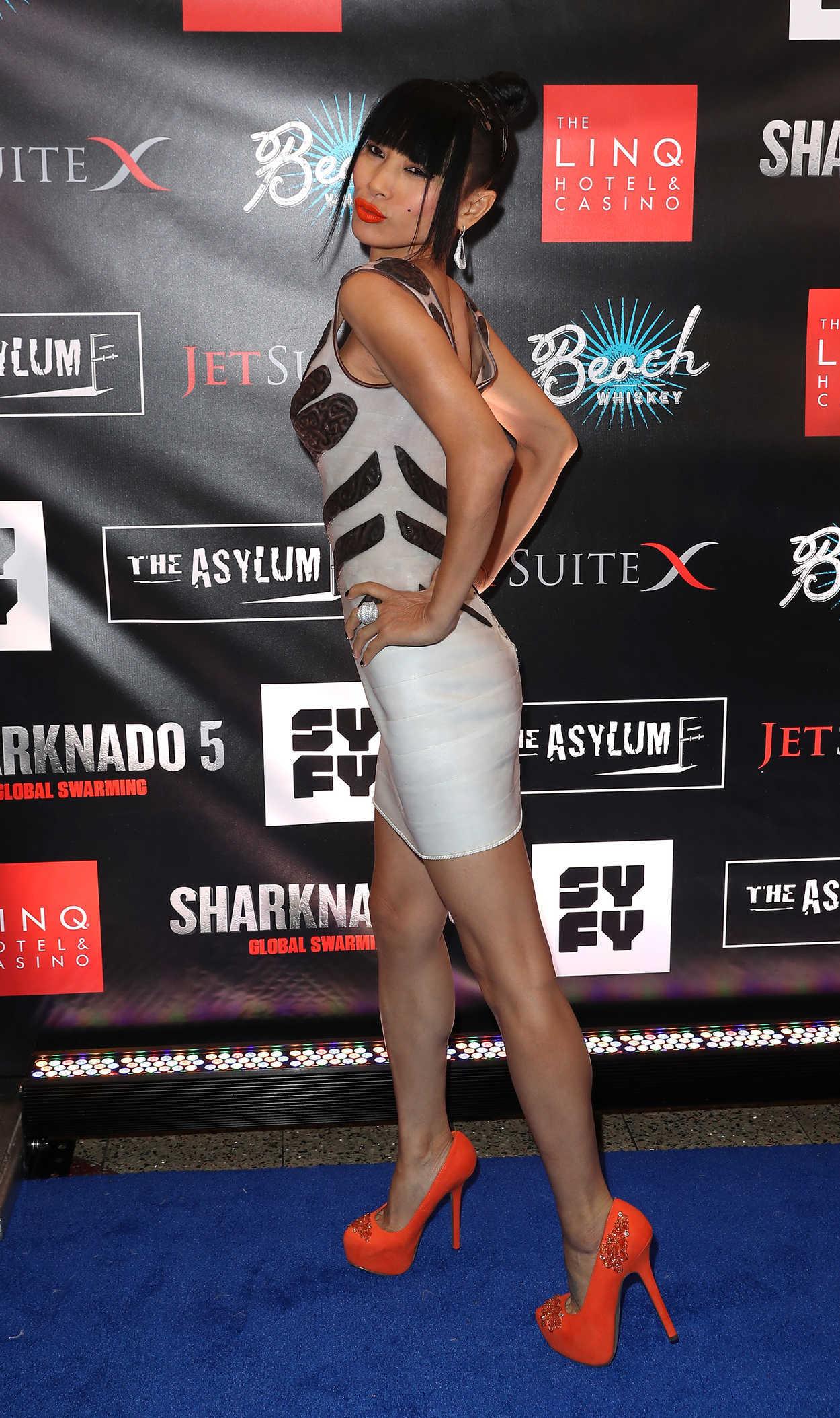 bai ling attends the sharknado 5 premiere in las vegas 08  06  2017  u2013 celebsla com