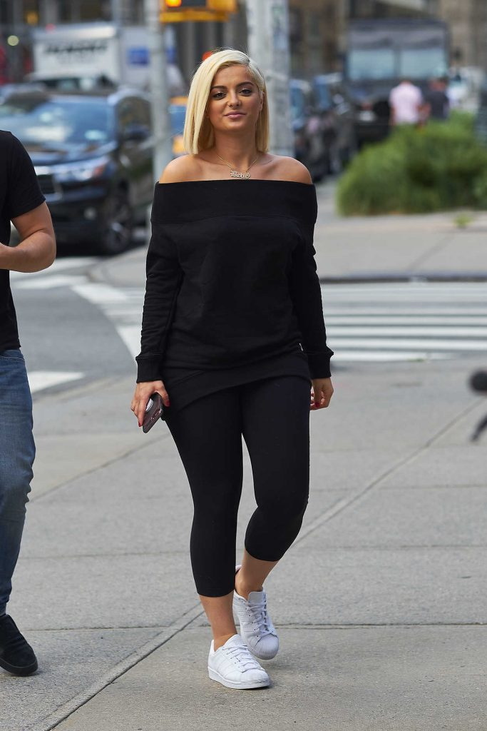 Bebe Rexha Was Seen Out in New York City 08/10/2017-2