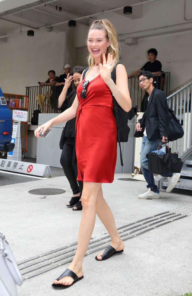 Behati Prinsloo Was Seen Out in Tokyo 08/09/2017-1