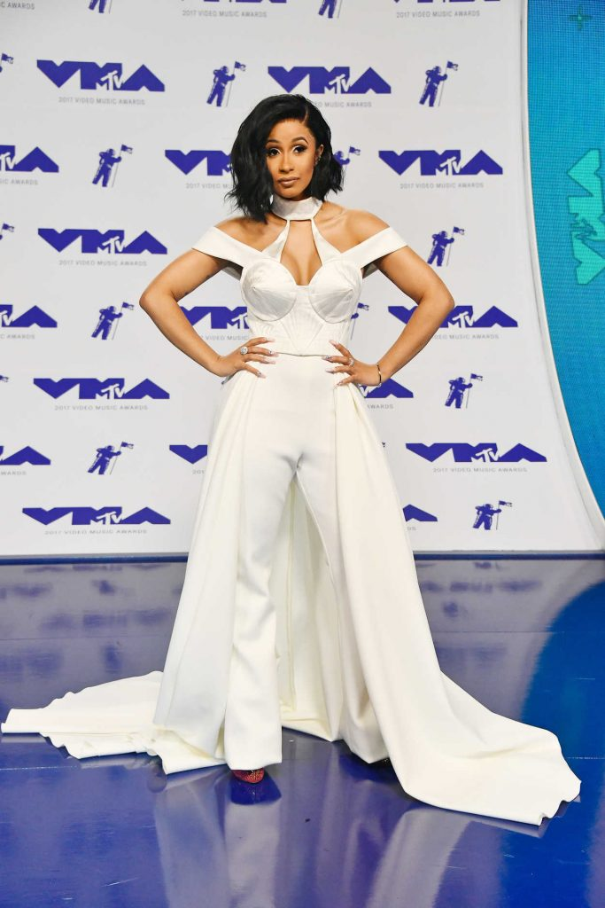 Cardi B at the 2017 MTV Video Music Awards in Los Angeles 08/27/2017-1