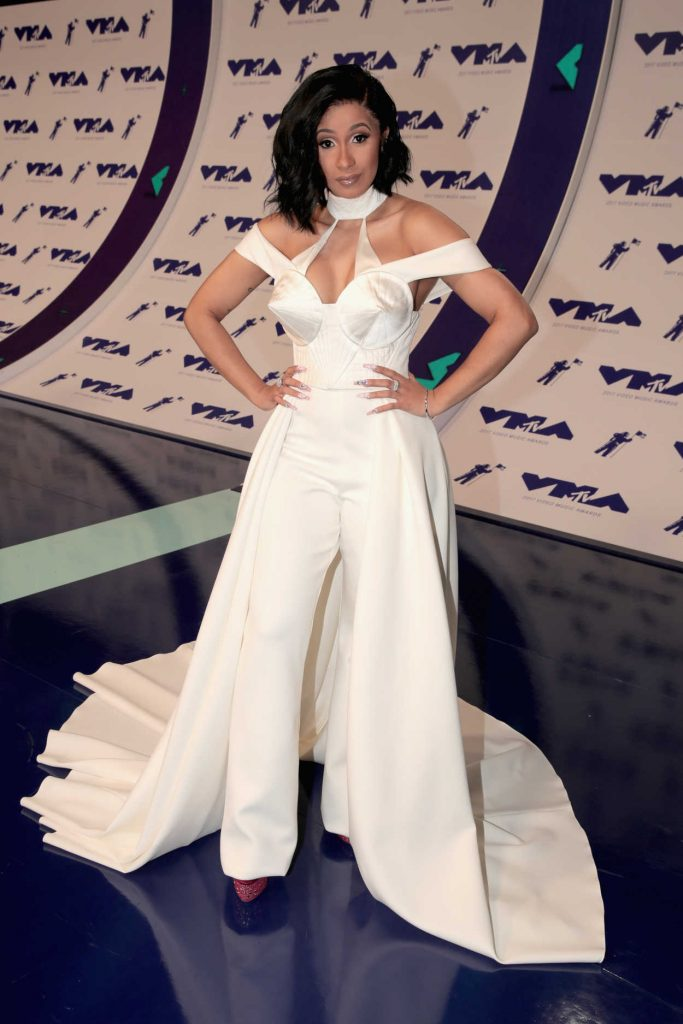 Cardi B at the 2017 MTV Video Music Awards in Los Angeles 08/27/2017-2
