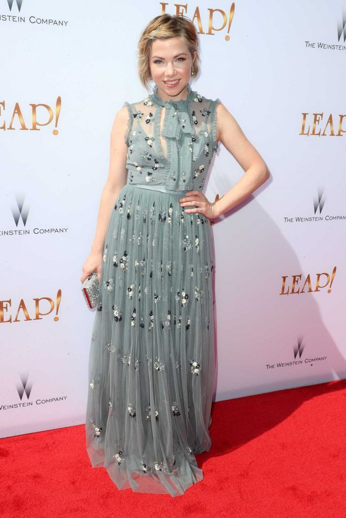Carly Rae Jepsen at Leap! Premiere in Los Angeles 08/19/2017-1