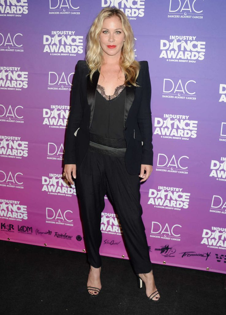 Christina Applegate at Industry Dance Awards in Hollywood 08/16/2017-1