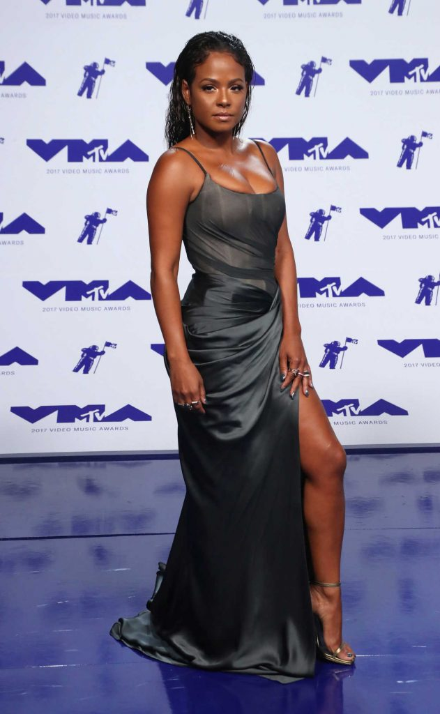 Christina Milian at the 2017 MTV Video Music Awards in Los Angeles 08/27/2017-1