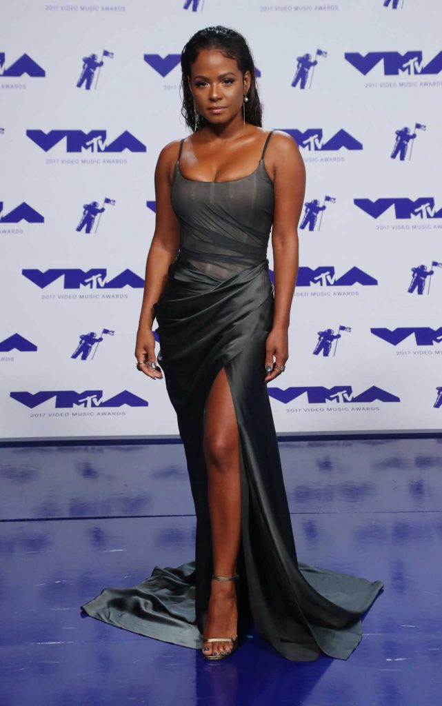 Christina Milian at the 2017 MTV Video Music Awards in Los Angeles 08/27/2017-2
