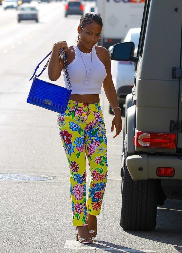Christina Milian Was Seen Out in Studio City 08/29/2017-3