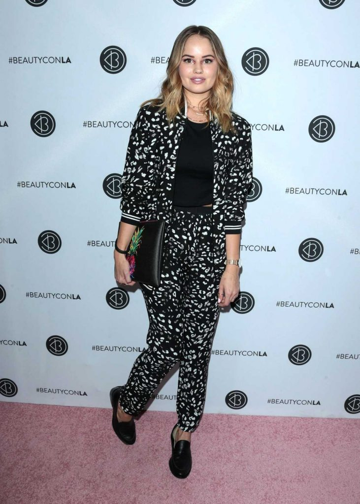 Debby Ryan at the 5th Annual Beautycon Festival Los Angeles 08/13/2017-4