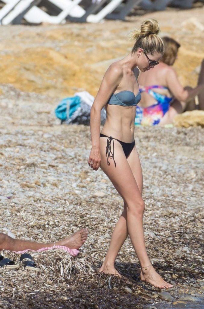 Doutzen Kroes in Bikini at the Beach in Ibiza 08/15/2017-2