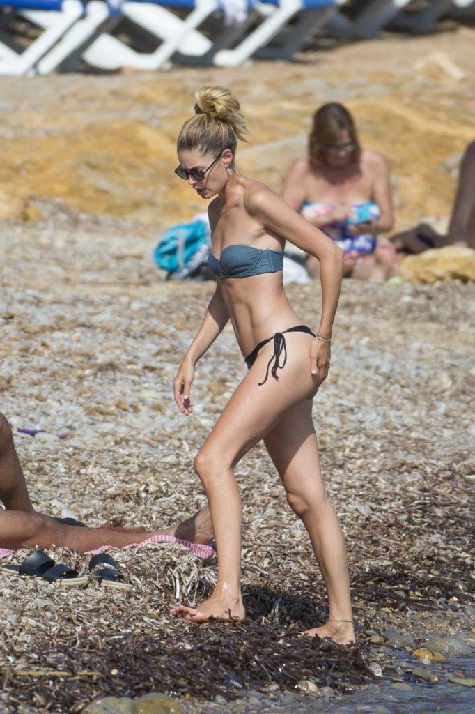 Doutzen Kroes in Bikini at the Beach in Ibiza 08/15/2017-4