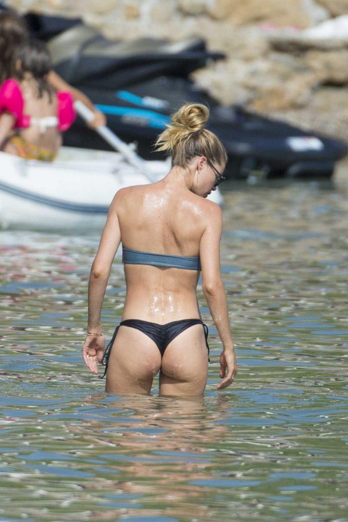 Doutzen Kroes in Bikini at the Beach in Ibiza 08/15/2017-5