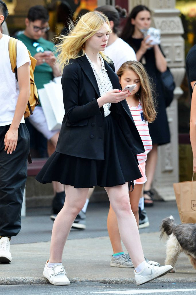 Elle Fanning Was Spotted Out in NYC 08/26/2017-3