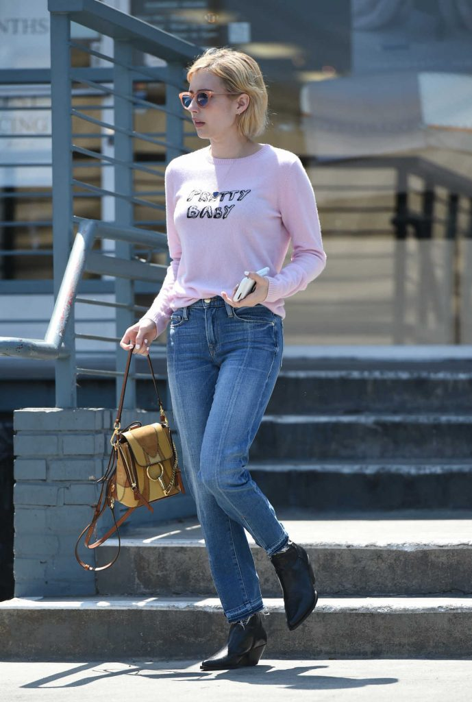 Emma Roberts Was Spotted Out in LA 08/24/2017-1