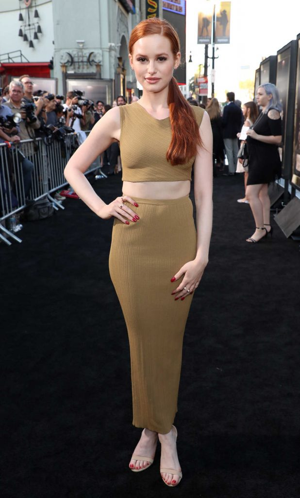 Madelaine Petsch at Annabelle: Creation Premiere in Los Angeles 08/07/2017-1