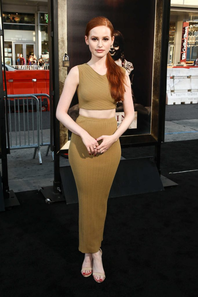 Madelaine Petsch at Annabelle: Creation Premiere in Los Angeles 08/07/2017-2