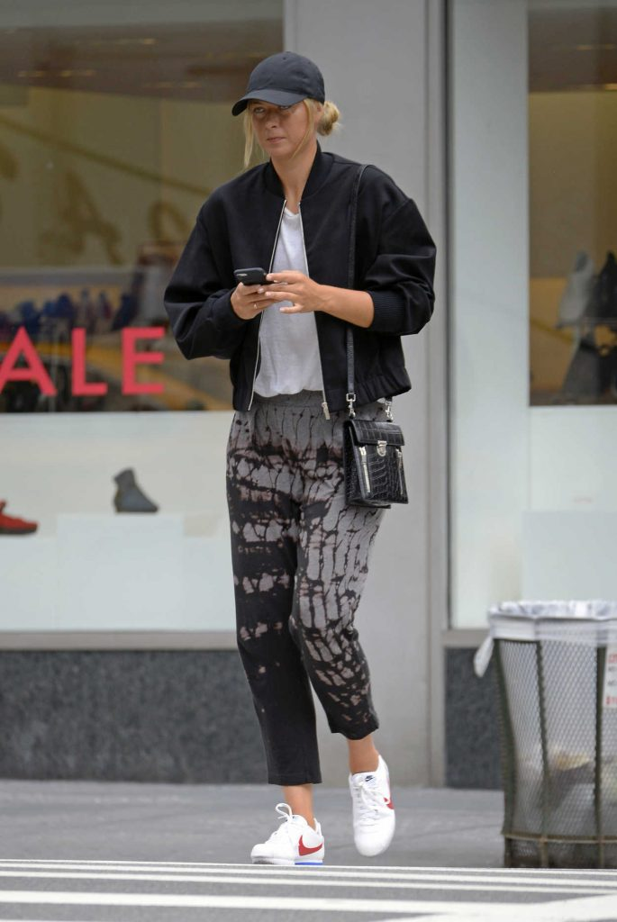Maria Sharapova Was Seen Out in New York City 08/17/2017-1