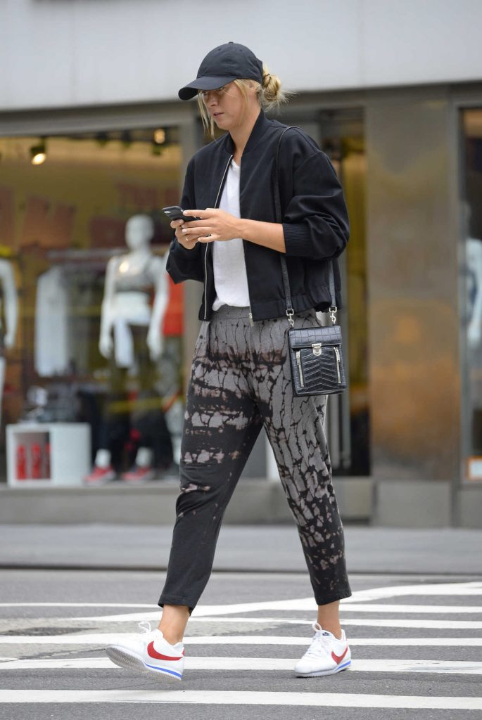 Maria Sharapova Was Seen Out in New York City 08/17/2017-2