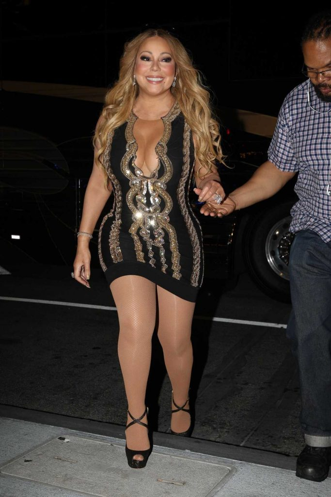 Mariah Carey Was Seen Out in Boston 08/22/2017-1