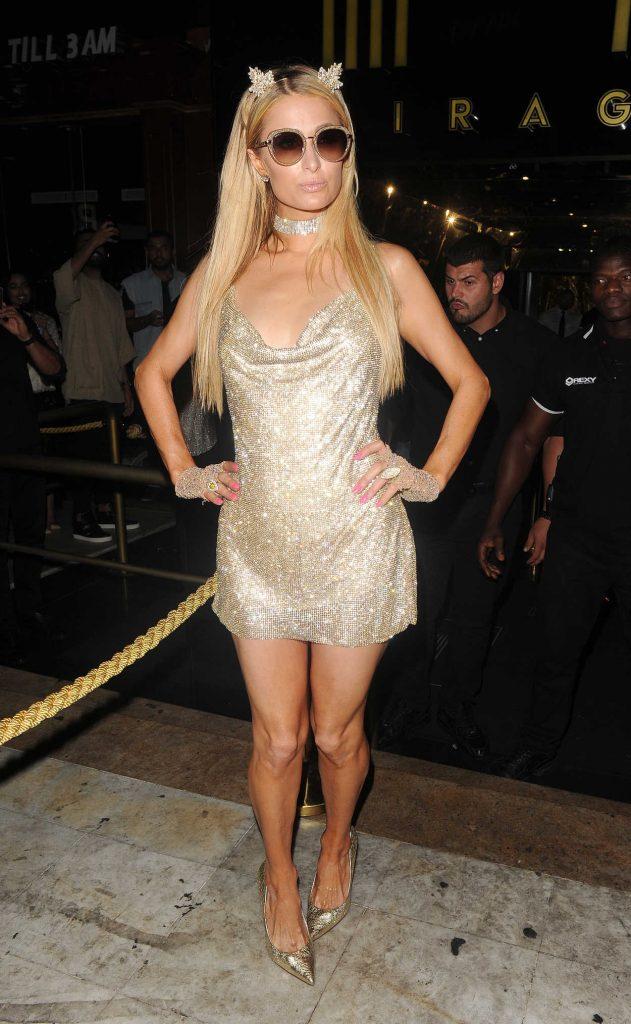 Paris Hilton Leaves Mirage Night Club in Puerto Banus 08/13/2017-2