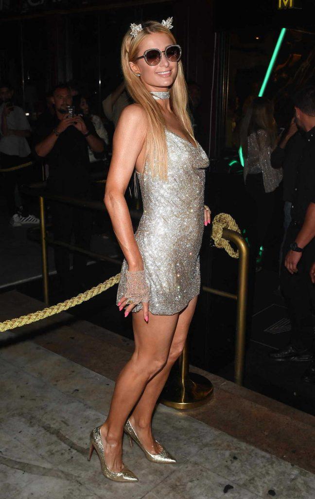 Paris Hilton Leaves Mirage Night Club in Puerto Banus 08/13/2017-5