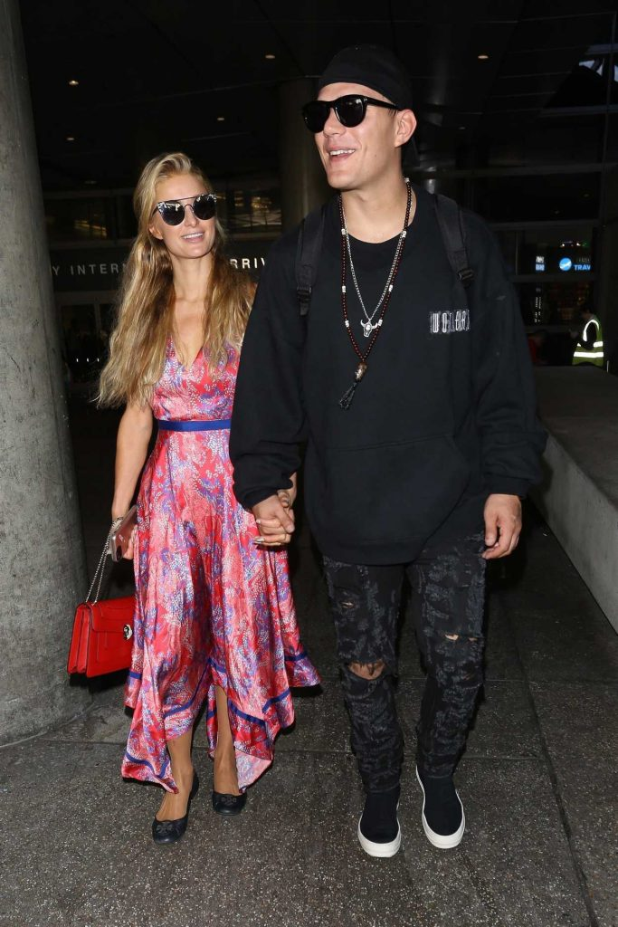 Paris Hilton Was Seen at LAX Airport in LA 08/28/2017-3