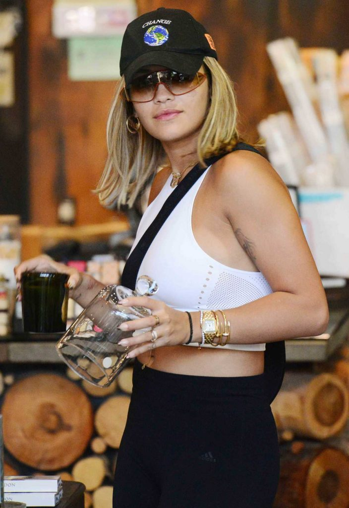 Rita Ora Goes Shopping in West Hollywood 08/04/2017-4
