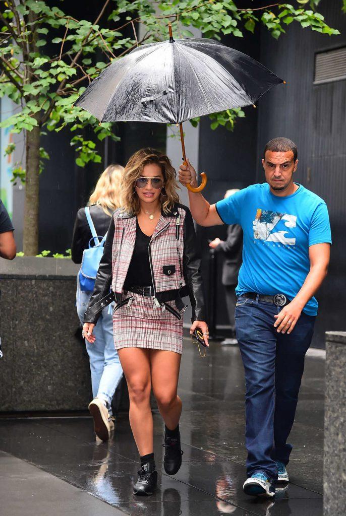 Rita Ora Leaves a Radio Show Studio in New York 08/07/2017-4