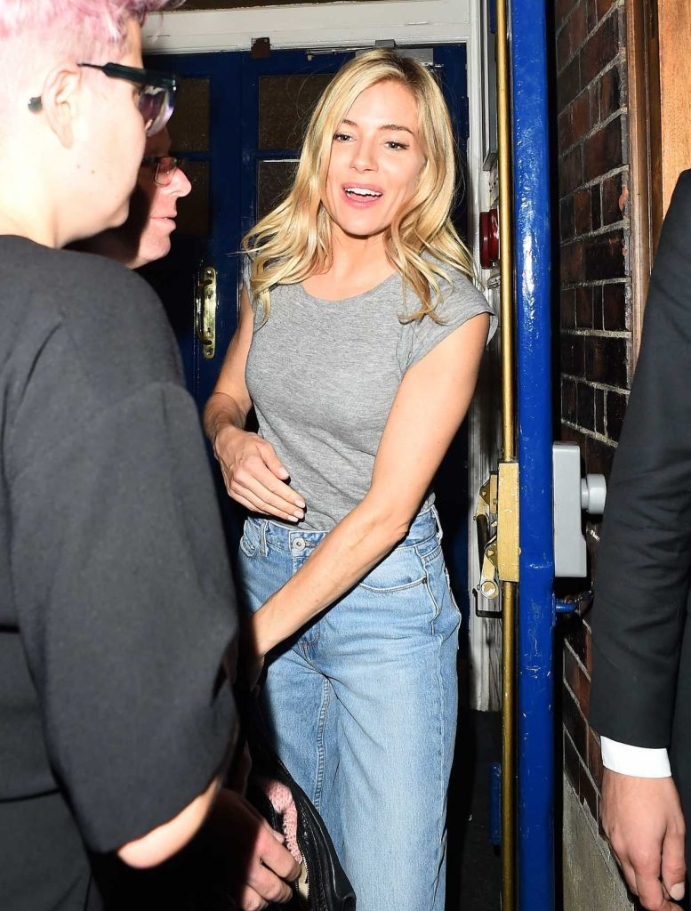 Sienna Miller Leaves Cat on a Hot Tin Roof Play in London 08/01/2017-3