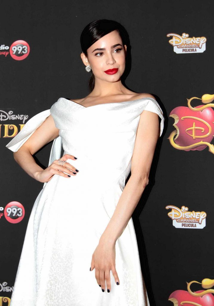 Sofia Carson at Descendants 2 Premiere at the Metropolis Theater in Mexico 08/12/2017-1