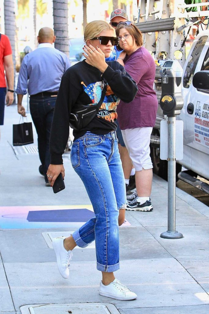 Sofia Richie Was Seen Out in Beverly Hills 08/22/2017-1