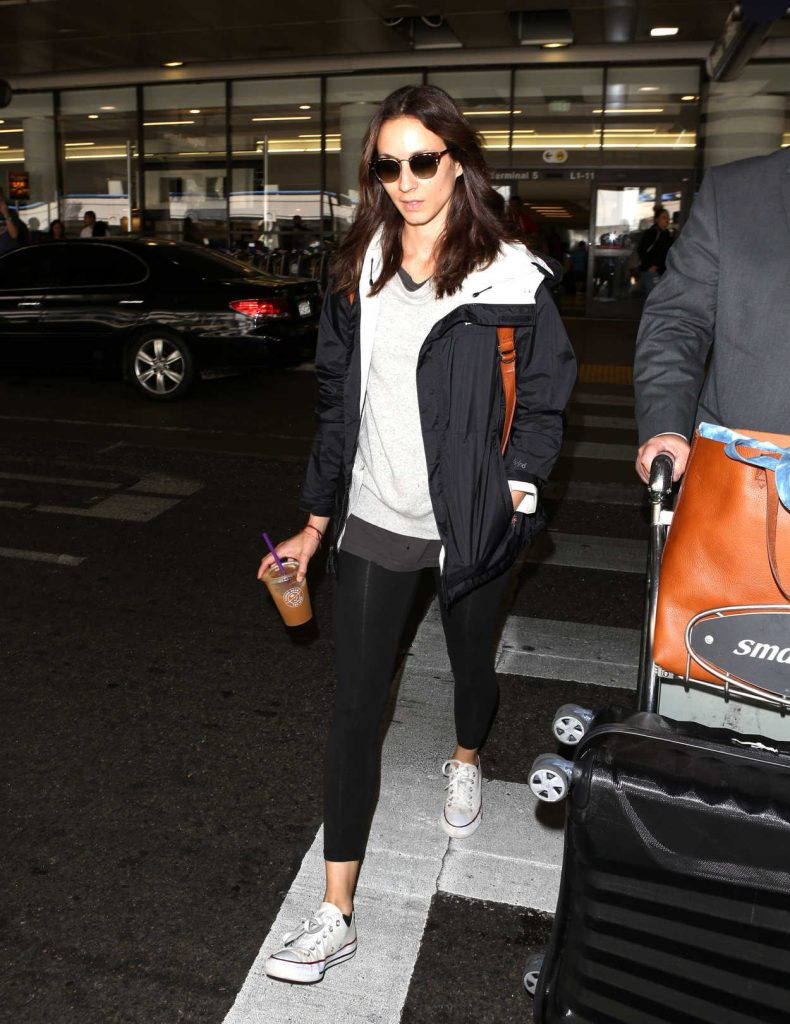 Troian Bellisario Was Spotted at LAX Airport in Los Angeles 08/18/2017-1