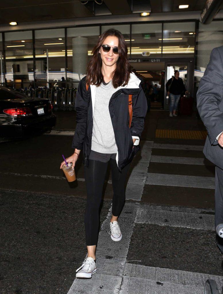 Troian Bellisario Was Spotted at LAX Airport in Los Angeles 08/18/2017-2