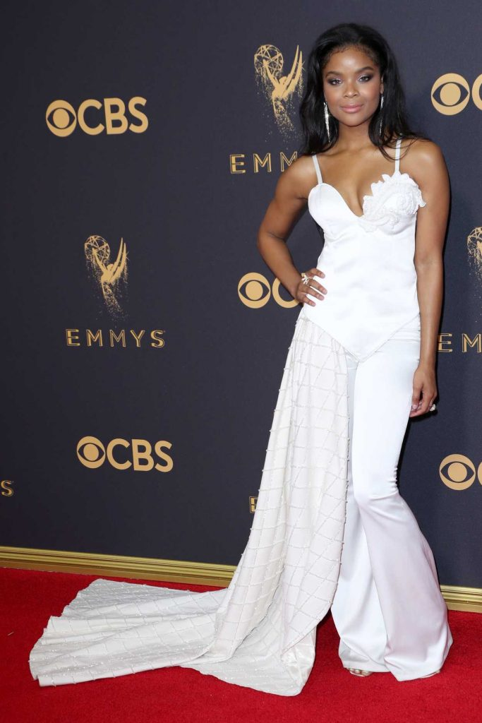 Ajiona Alexus at the 69th Annual Primetime Emmy Awards in Los Angeles 09/17/2017-1