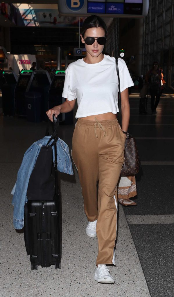 Alessandra Ambrosio Was Spotted at LAX Airport in LA 09/26/2017-2