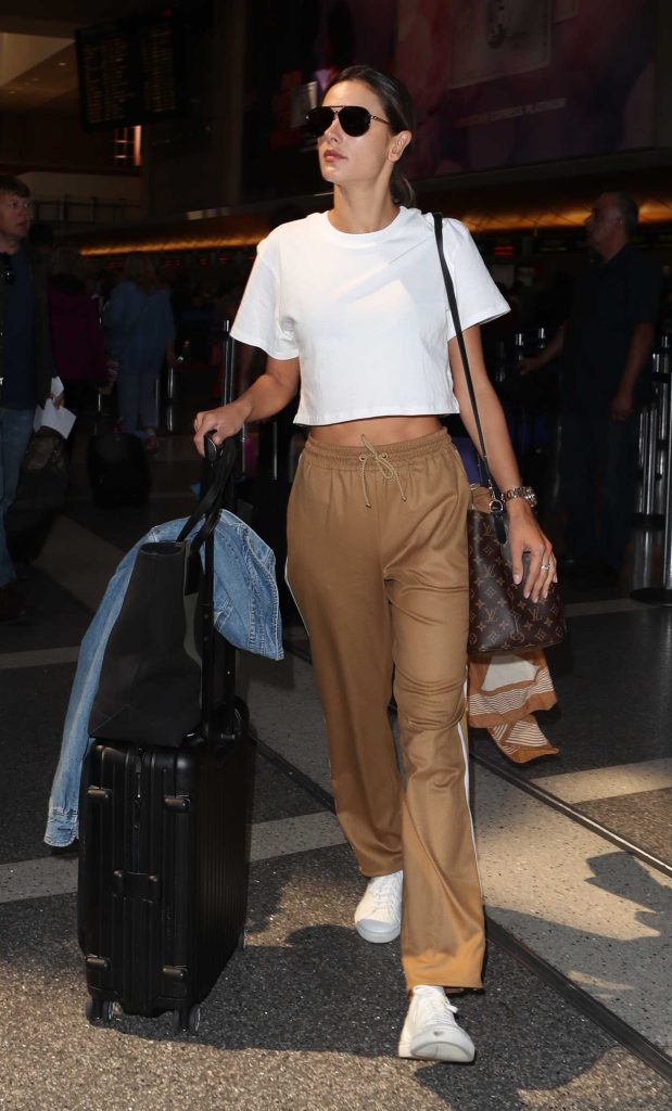 Alessandra Ambrosio Was Spotted at LAX Airport in LA 09/26/2017-3