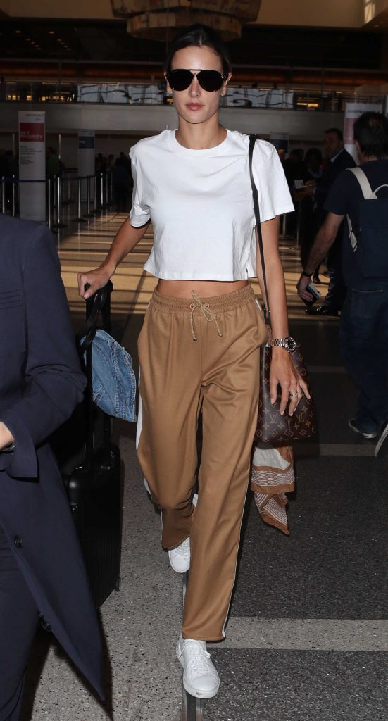 Alessandra Ambrosio Was Spotted at LAX Airport in LA 09/26/2017-4