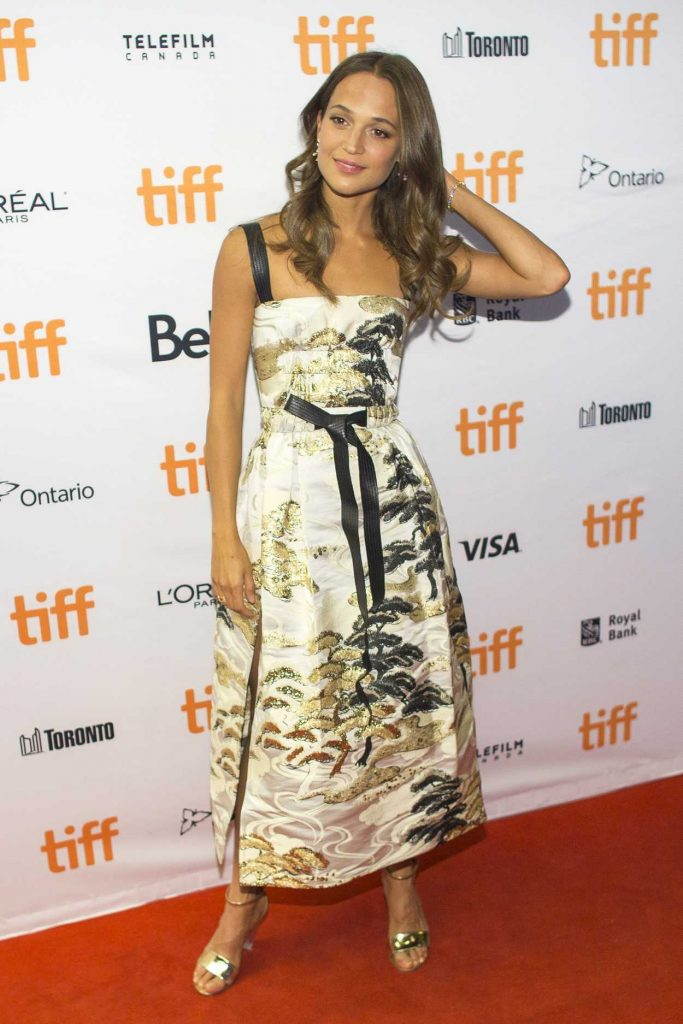 Alicia Vikander at Euphoria Premiere During the 42nd Toronto International Film Festival 09/11/2017-2