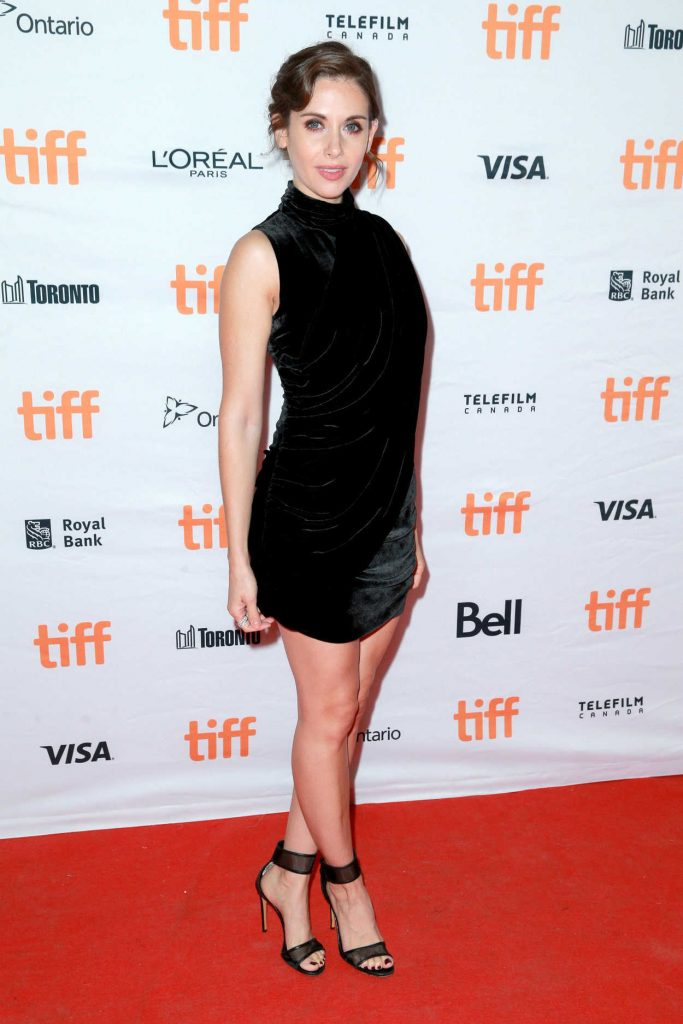 Alison Brie at The Disaster Artist Premiere During the 42nd Toronto International Film Festival 09/11/2017-3