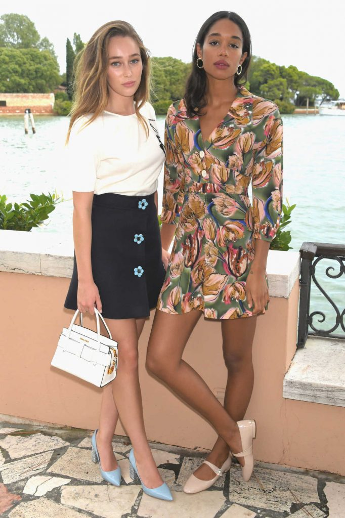 Alycia Debnam-Carey Attends an Intimate Lunch at Hotel Cipriani in Venice, Italy 09/01/2017-4