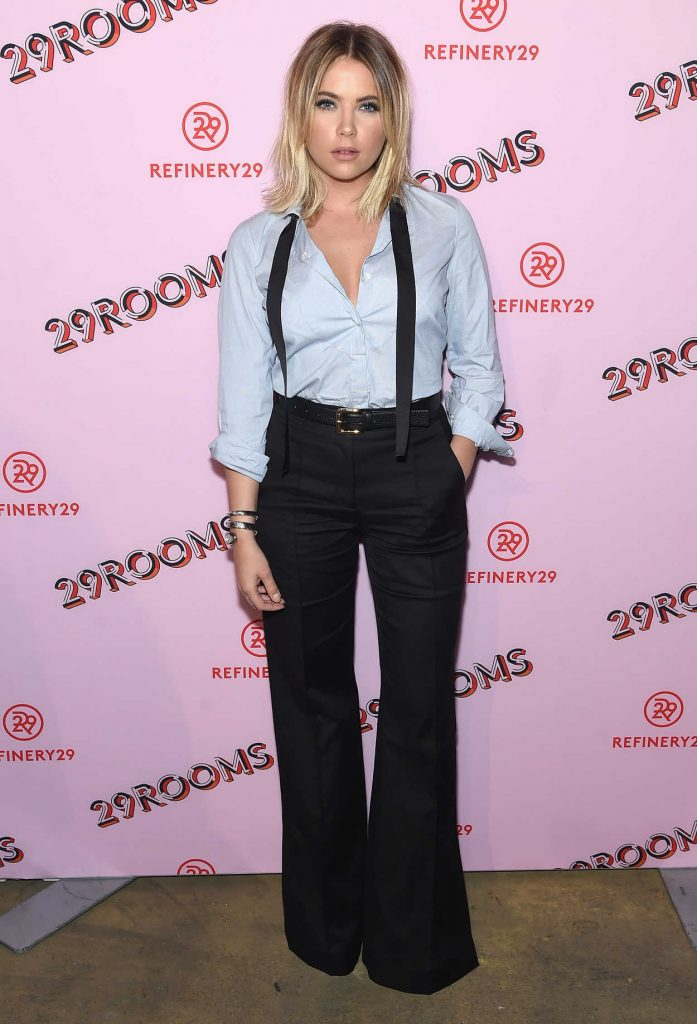 Ashley Benson at the Refinery29 Third Annual 29Rooms: Turn it Into Art Event in Brooklyn 09/07/2017-1