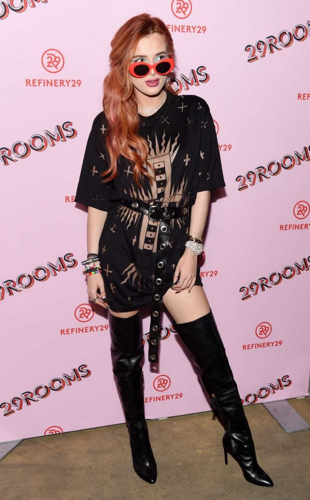 Bella Thorne at the Refinery29 Third Annual 29Rooms: Turn It Into Art Event in Brooklyn 09/07/2017-1