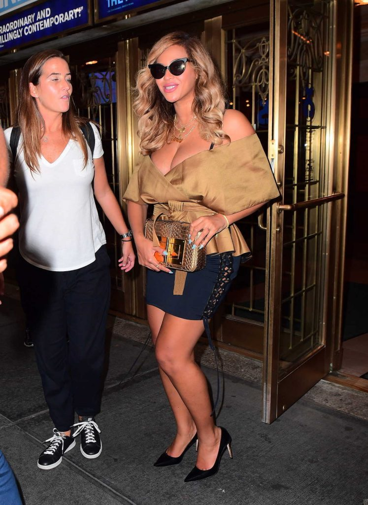 Beyonce Night Out in New York City 09/15/2017-2