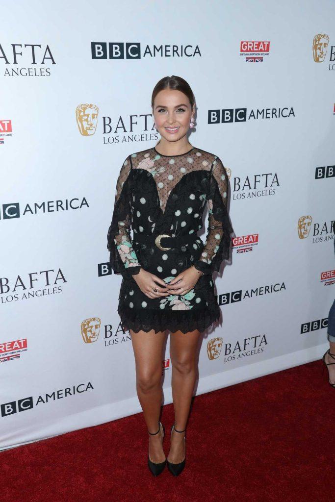 Camilla Luddington at BAFTA Tea Party in Los Angeles 09/16/2017-1