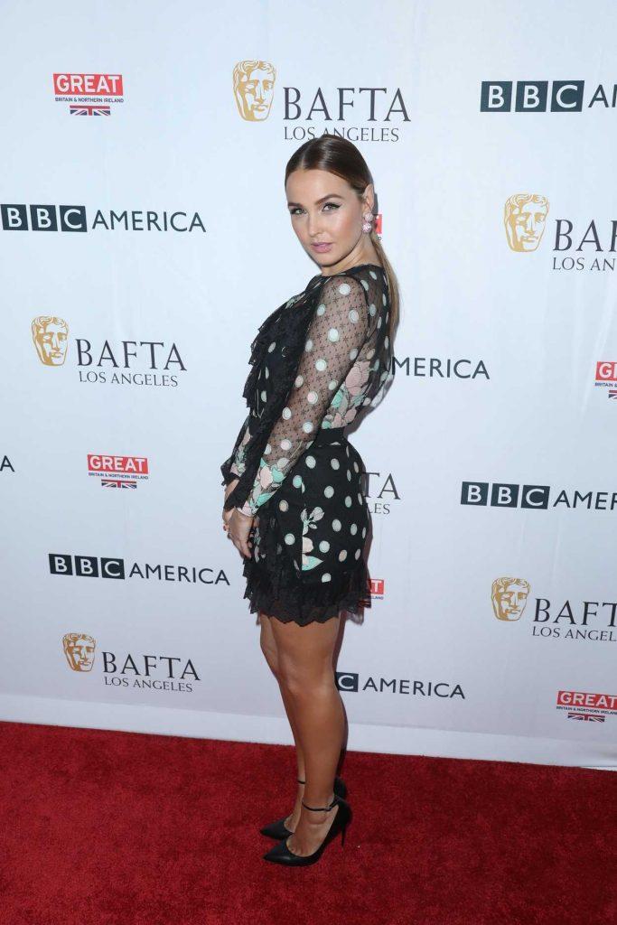 Camilla Luddington at BAFTA Tea Party in Los Angeles 09/16/2017-2
