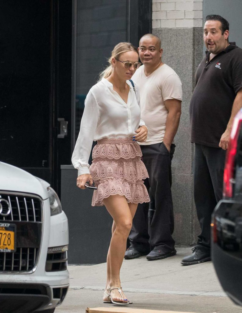Caroline Wozniacki Was Seen Out in New York City 08/31/2017-1