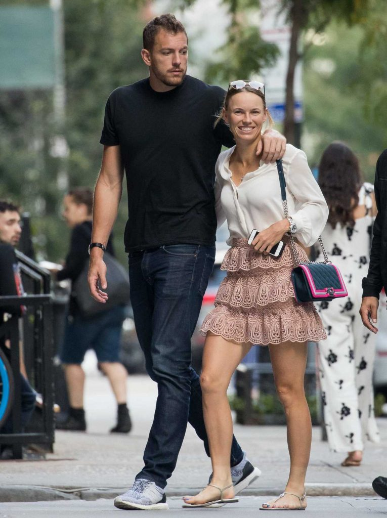 Caroline Wozniacki Was Seen Out in New York City 08/31/2017-3