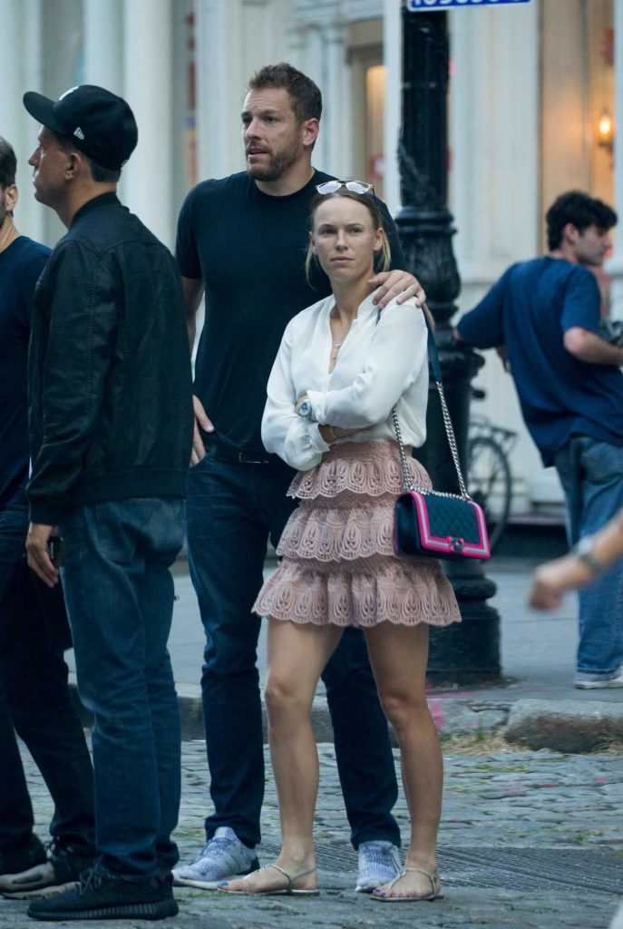 Caroline Wozniacki Was Seen Out in New York City 08/31/2017-4