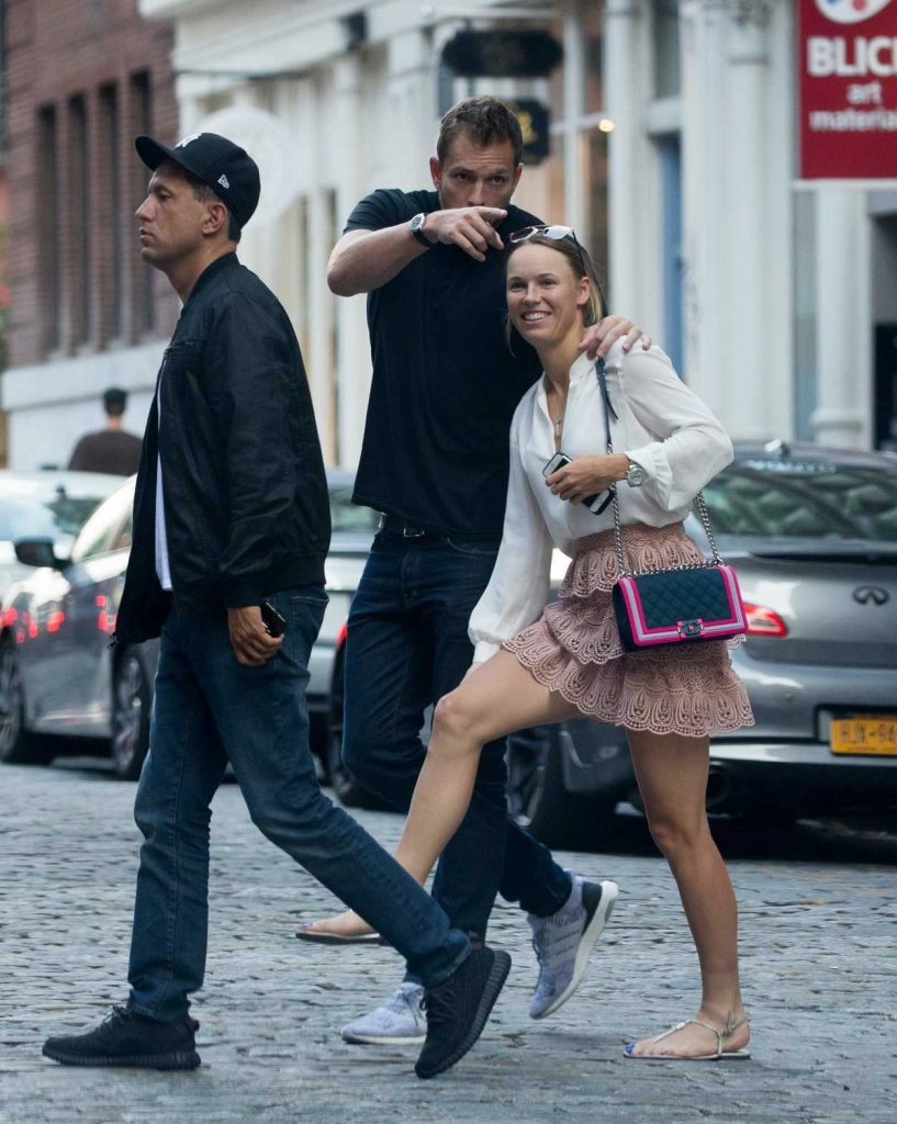 Caroline Wozniacki Was Seen Out in New York City 08/31/2017-5