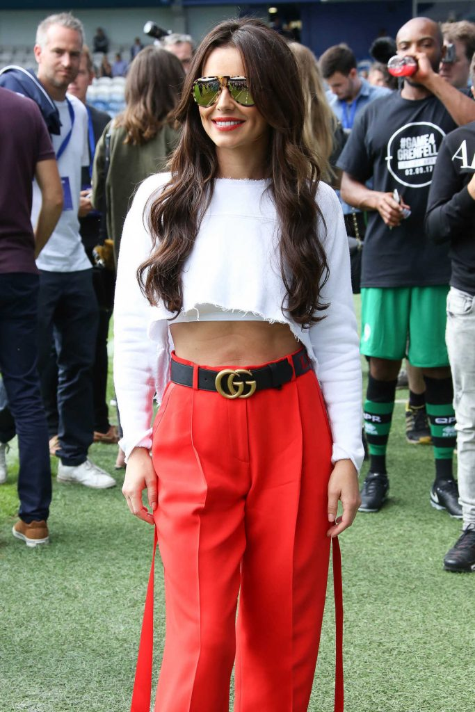 Cheryl Cole at the Charity Football Match in London 09/02/2017-4