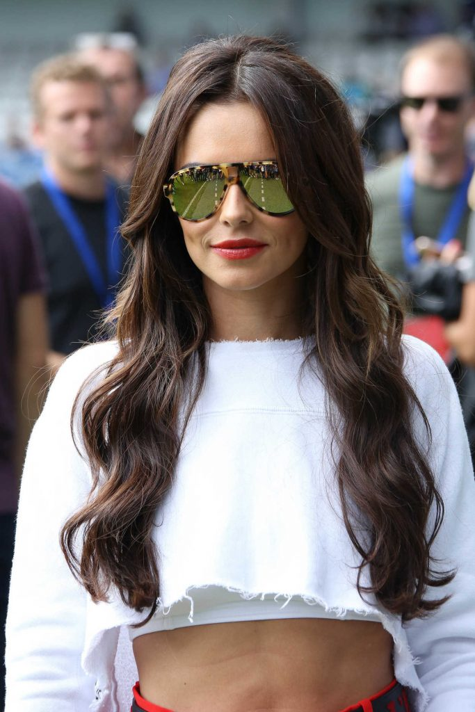 Cheryl Cole at the Charity Football Match in London 09/02/2017-5