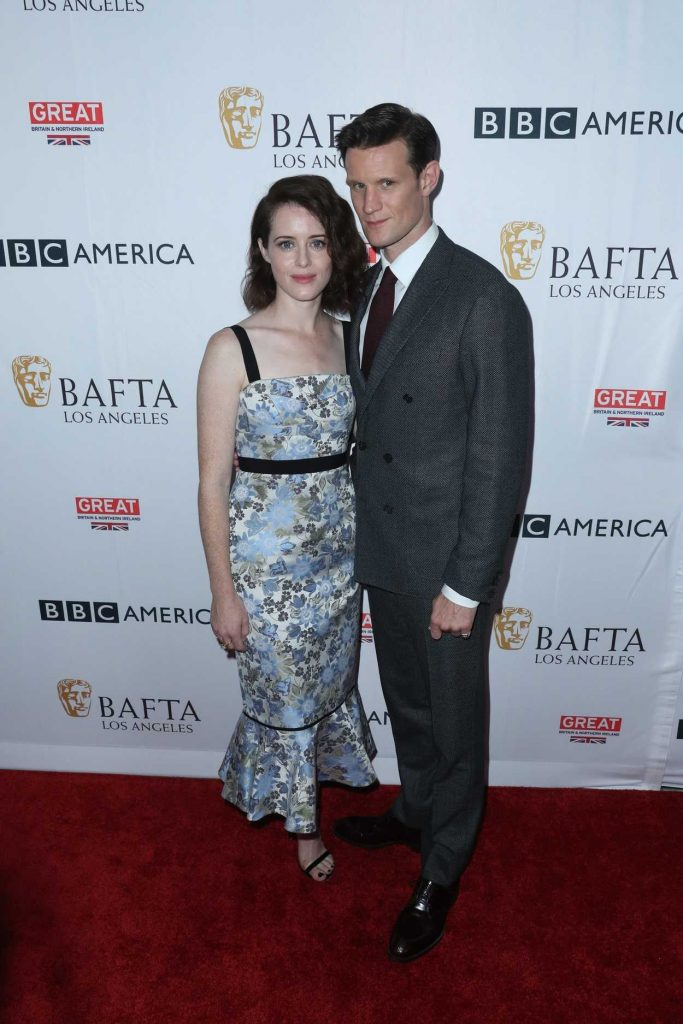 Claire Foy at BAFTA Tea Party in Los Angeles 09/16/2017-3